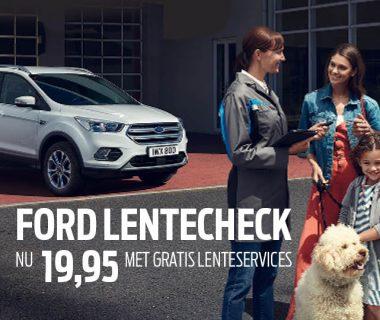 Kan uw Ford wel een opfrisbeurt gebruiken na de winter?