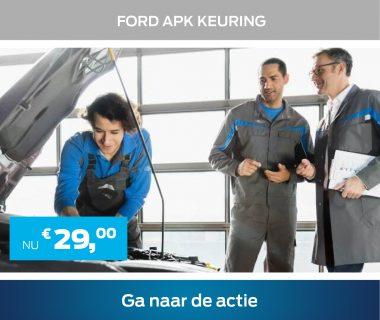Ford APK keuring nu voor € 29,-