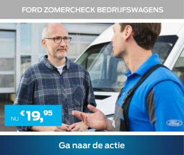 Ford Zomercheck bedrijfswagens € 19,95