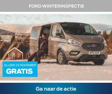 Veilig met uw Ford de winter door? Kom langs voor de Ford Winterinspectie