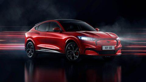 Afbeelding voor Nu te bestellen, de 100% elektrische Ford Mustang Mach-E.