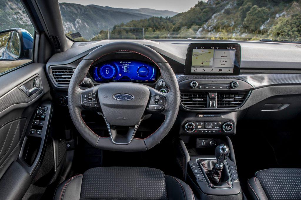 Digitaal instrumentencluster Ford Focus
