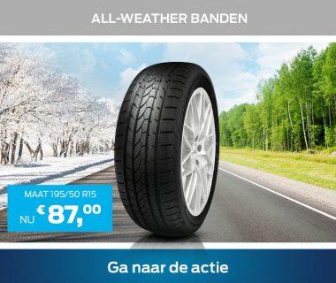 In zomer en winter veilig rijden met all-weather banden