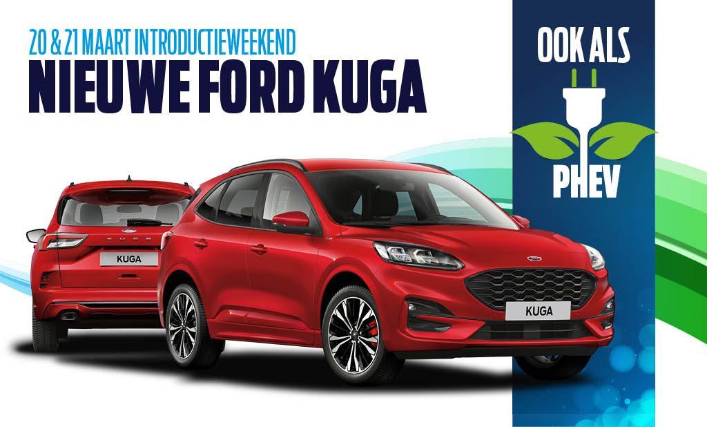 Introductie nieuwe Kuga 20 en 21 maart