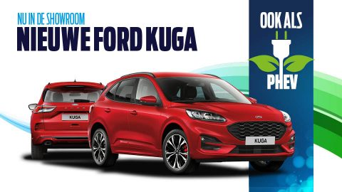 Afbeelding voor Hij is bij ons te bekijken, de nieuwe Ford Kuga
