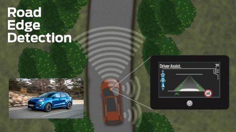 Afbeelding voor Nieuwe techniek onder de loep: Road Edge Detection