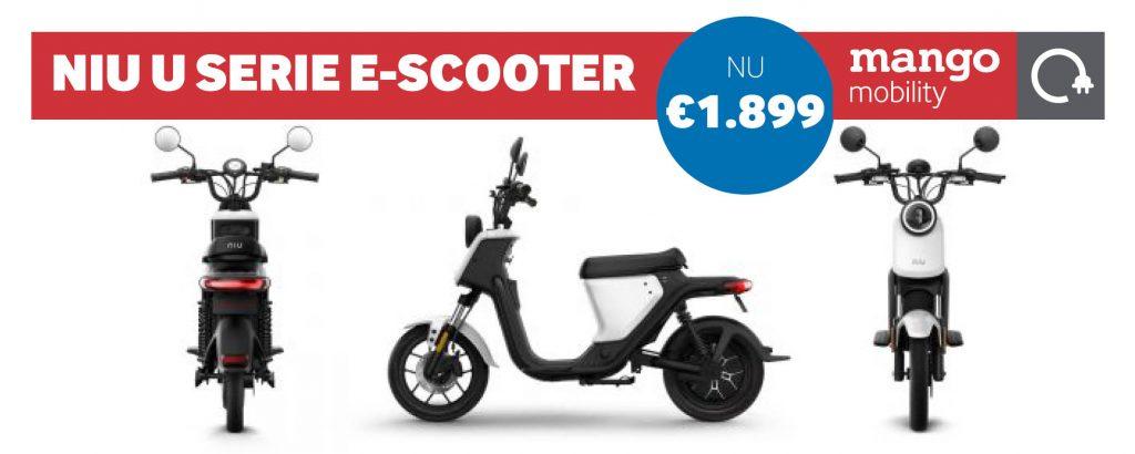 De Niu UQi e-scooter