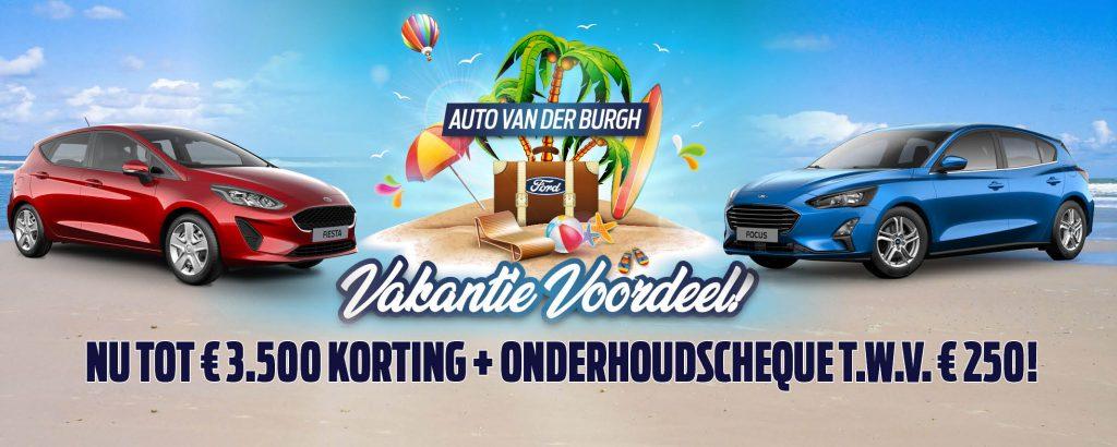 Vakantievoordeel Auto van der Burgh