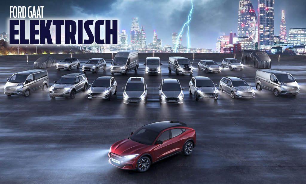 Ford elektrisch modellenprogramma