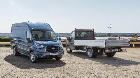 Afbeelding voor Ford introduceert de sterkste Ford Transit ooit.
