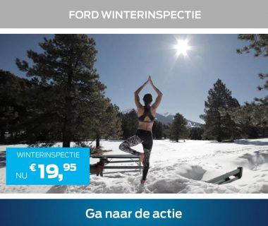 Veilig de winter door? Doe de Ford Winterinspectie