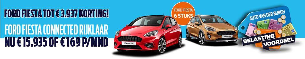 Profiteer van belastingvoordeel op de Ford Fiesta!