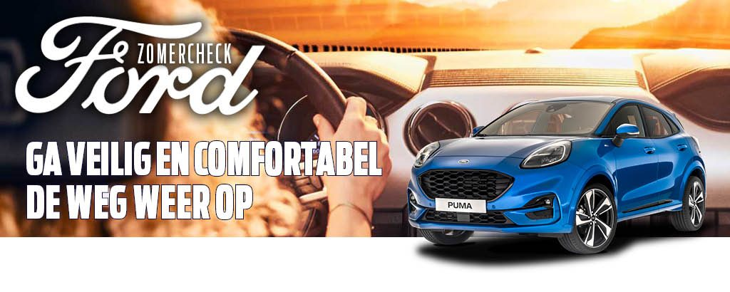 Ford Zomercheck voor € 29!