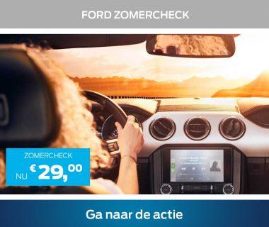 Veilig op vakantie? Doe de Ford Zomercheck!