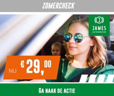 Veilig en comfortabel op vakantie? Doe de James Zomercheck!